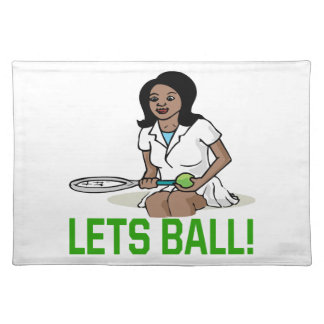 Lets Ball Cloth Placemat