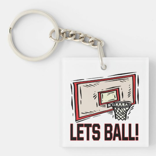 Lets Ball Keychain