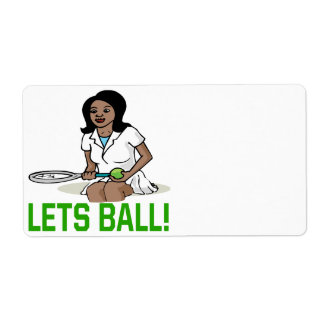 Lets Ball Label