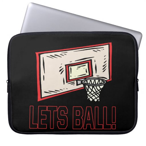 Lets Ball Laptop Computer Sleeve