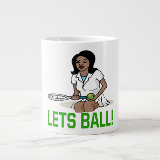 Lets Ball Large Coffee Mug