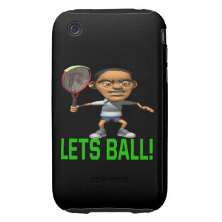 Lets Ball Tough iPhone 3 Cover
