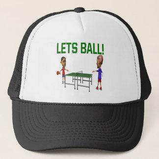 Lets Ball Trucker Hat
