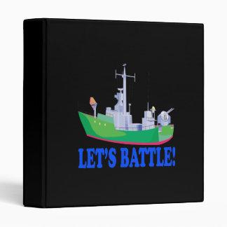 Lets Battle 3 Ring Binder