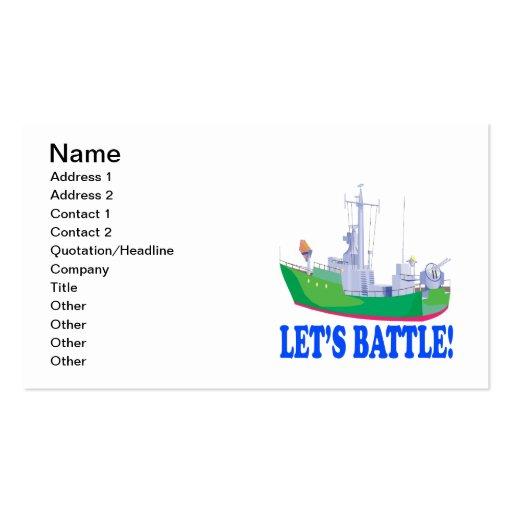 Lets Battle Business Card
