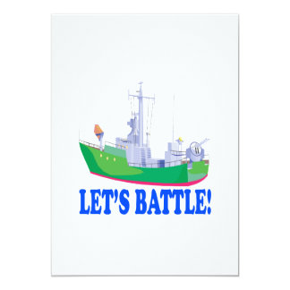 Lets Battle Card