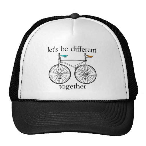 Let's Be Different Together Trucker Hat