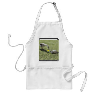 Let's Be Friends - The Turtle & The Goose Adult Apron