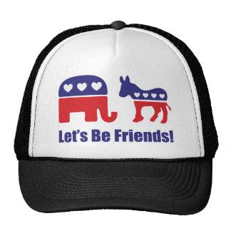 Let's Be Friends! Trucker Hat