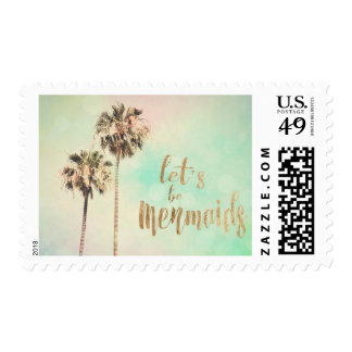 Let's Be Mermaids with Pineapple Postage