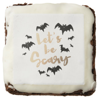 Let's be Scary Square Brownie