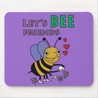 Let's Bee Friends Mousepad