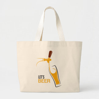 Let's Beer Canvas Bags