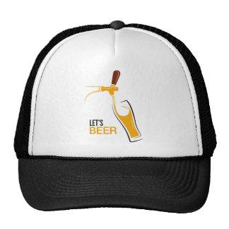 Let's Beer Trucker Hat