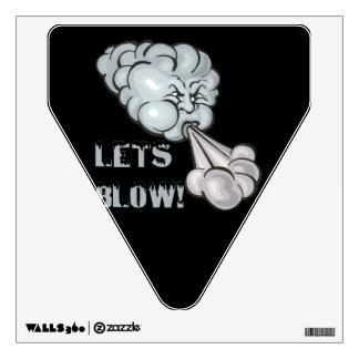 Lets Blow 2 Wall Sticker