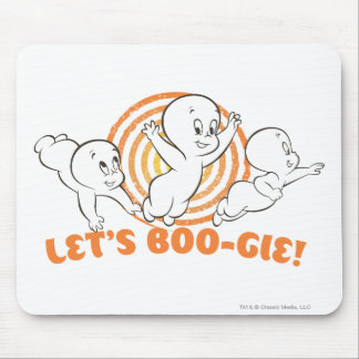 Let's Boo-gie Mouse Pad