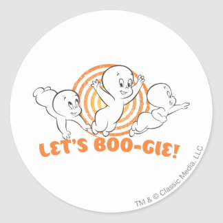 Let's Boo-gie Stickers