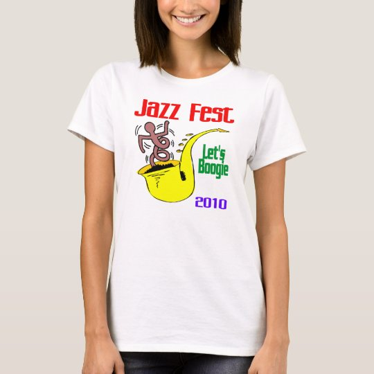 Let's Boogie At Jazz Fest T-Shirt