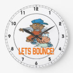 Lets Bounce 5 Clock