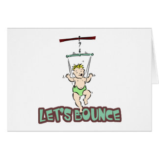 Lets Bounce baby jumper bouncer Card