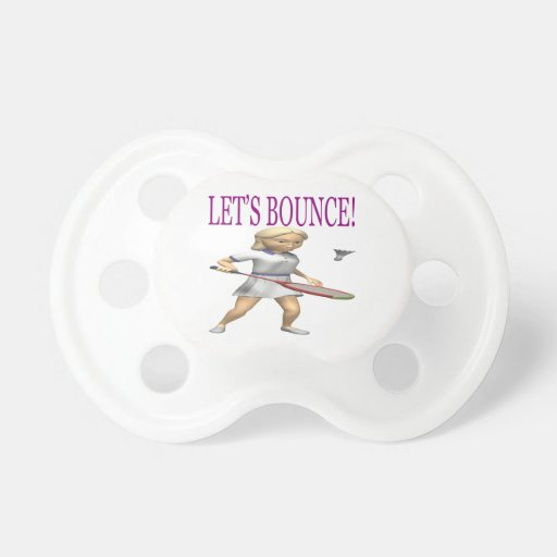 Lets Bounce Baby Pacifiers