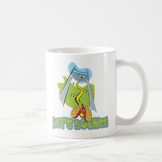 Lets Bounce Bungee Jumping Classic White Coffee Mug