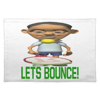 Lets Bounce Cloth Placemat