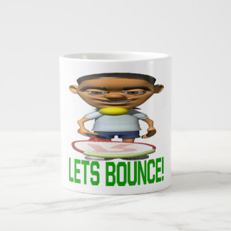 Lets Bounce Giant Coffee Mug