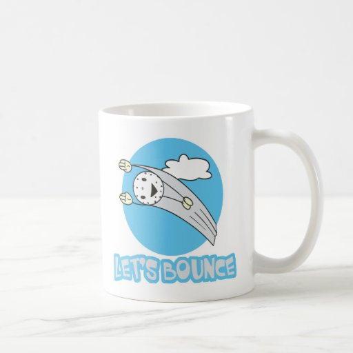 Lets Bounce Golf Ball Mugs