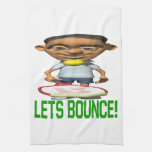 Lets Bounce Hand Towel