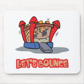 Lets Bounce Jump Castle Mouse Pad