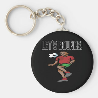 Lets Bounce Keychain