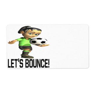 Lets Bounce Label