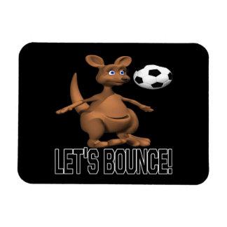 Lets Bounce Magnet