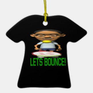 Lets Bounce Ornament