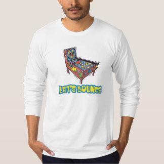 Lets Bounce Pinball Machine T Shirt