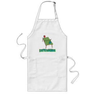 Lets Bounce Ping Pong Table Tennis Long Apron