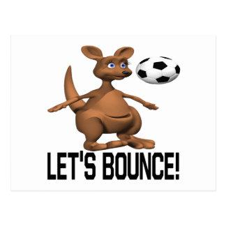 Lets Bounce Postcard