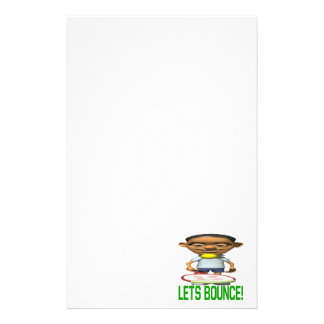 Lets Bounce Stationery