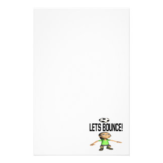 Lets Bounce Stationery Paper