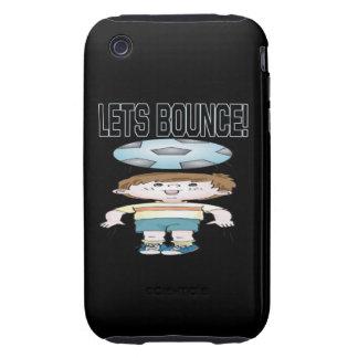 Lets Bounce Tough iPhone 3 Cases
