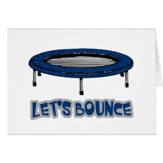 Lets Bounce Trampoline Card