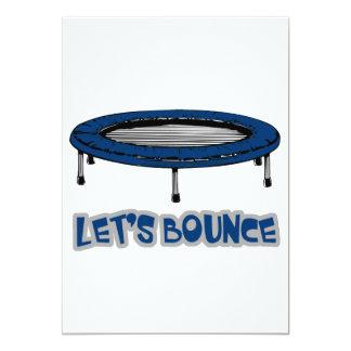 lets bounce trampoline design card