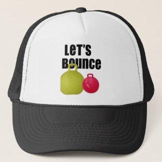 Let's Bounce Trucker Hat