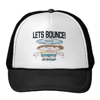 Lets Bounce Trucker Hat