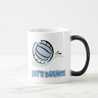 Lets Bounce Volleyball 11 Oz Magic Heat Color-Changing Coffee Mug