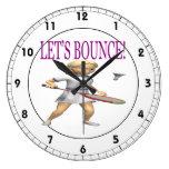 Lets Bounce Wall Clock