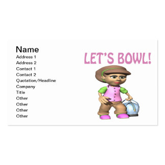 Lets Bowl Business Cards