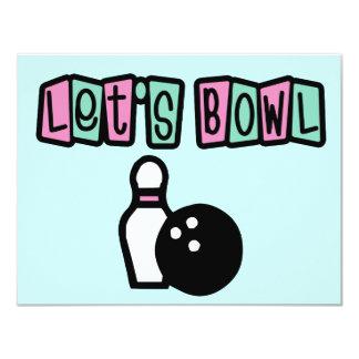 Let's Bowl! Card