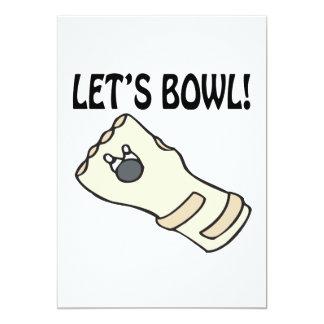 Lets Bowl Card